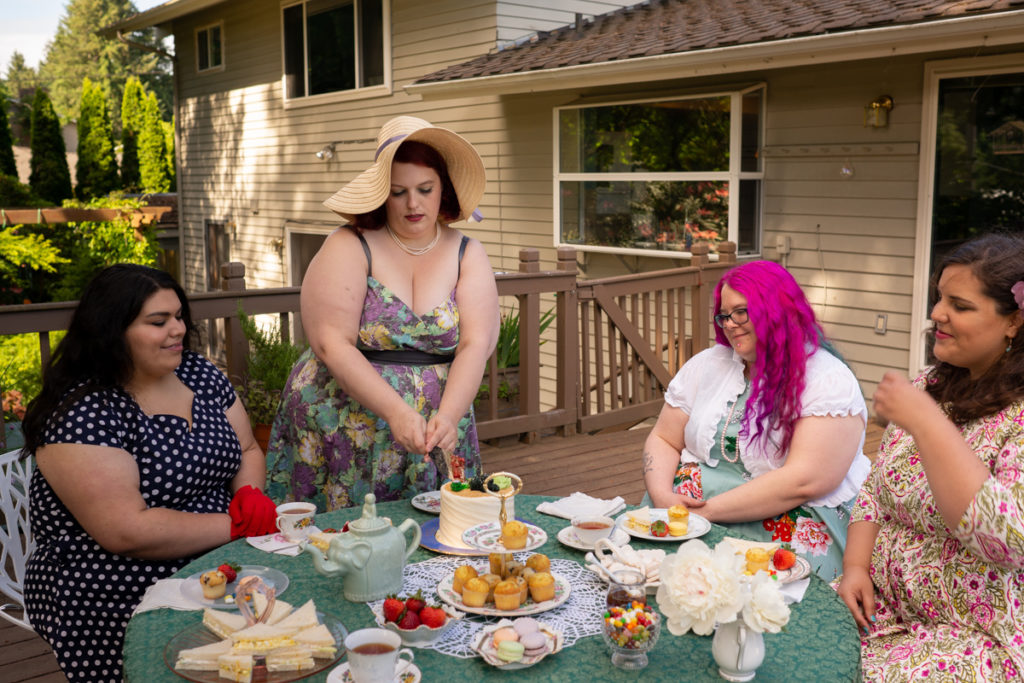 Magical Tea Party Session | Body-Positive Stock Photography in Renton, WA