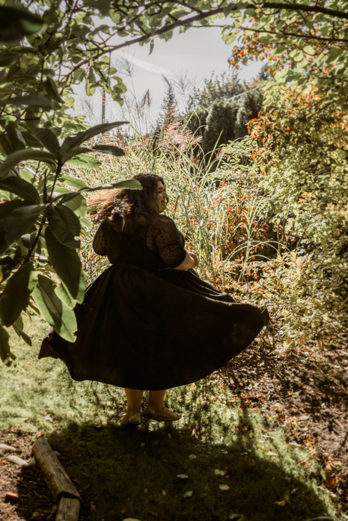 Intimate Portraits with Ms. J   Body-Positive Outdoor Boudoir Photography in Seattle, WA